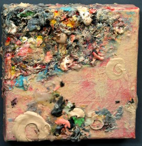 26. N.Cooley-bits & pieces.acrylic 5x5 inch-$125.00